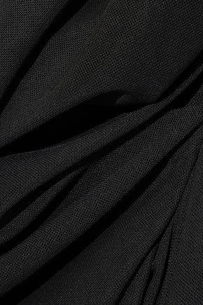 REBECCA MINKOFF Sofia ruched mesh mini dress