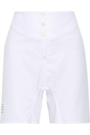 THOM BROWNE Cotton-piqué shorts