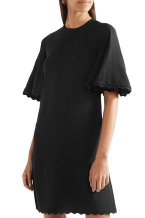 CHLOÉ Scalloped cady mini dress