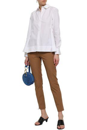 MARNI Pleated cotton shirt
