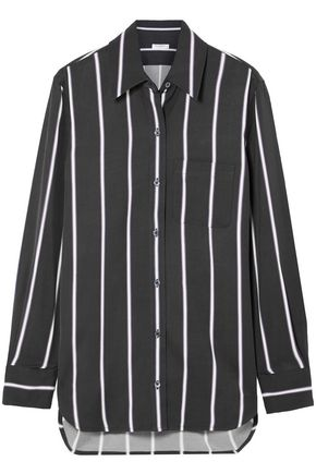 EQUIPMENT Bradner striped twill shirt
