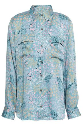 EQUIPMENT Printed satin shirt