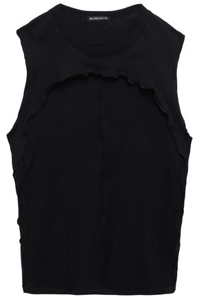 ANN DEMEULEMEESTER Asymmetric cotton-jersey top