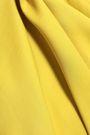 MARNI Gathered crepe top