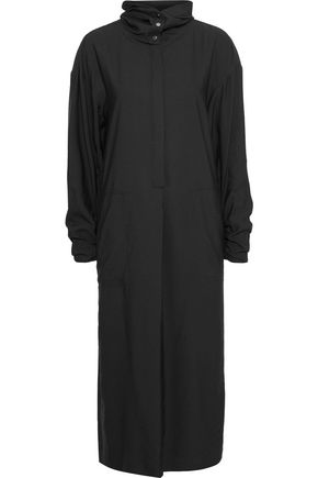 TIBI Twill hooded midi dress