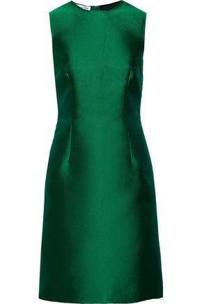 OSCAR DE LA RENTA Duchesse-satin dress