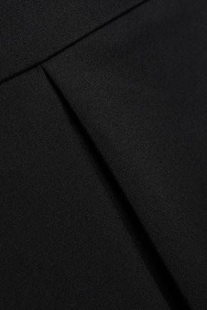 TIBI Cropped cutout cady jumpsuit