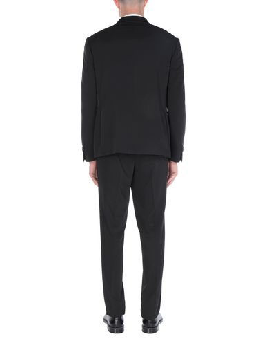 Фото 2 - Мужской костюм DOMENICO TAGLIENTE черного цвета