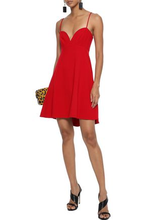 Black Halo Dresses BLACK HALO WOMAN MCADAM CADY MINI DRESS RED