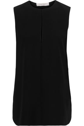 CAROLINA HERRERA Crepe top
