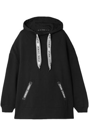 OPENING CEREMONY Oversized printed cotton-jersey hoodie