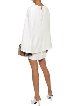 A.L.C. Erin cape-back cady mini dress