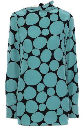 MARNI Printed silk crepe de chine blouse
