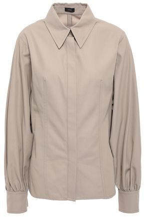 JOSEPH Flora cotton-twill shirt