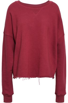 SIMON MILLER French cotton-terry sweatshirt