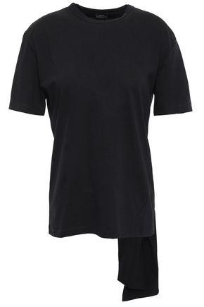 JOSEPH Knotted cotton-jersey T-shirt