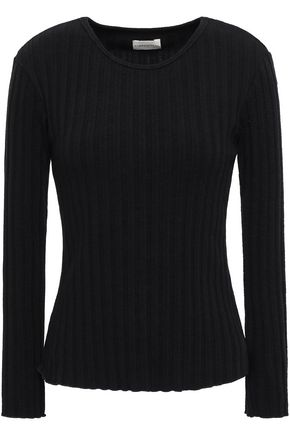 SIMON MILLER Devola ribbed tencel-blend top