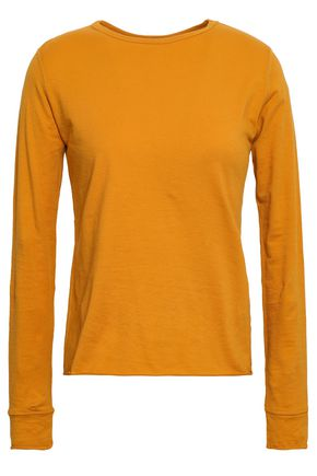 SIMON MILLER Cotton-blend jersey top