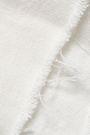 SIMON MILLER Frayed layered denim top