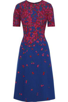 CAROLINA HERRERA Floral-print neoprene dress