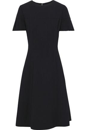 CAROLINA HERRERA Ruffled wool-blend cady dress