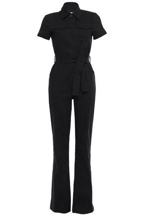 A.L.C. Rivington belted stretch-crepe jumpsuit