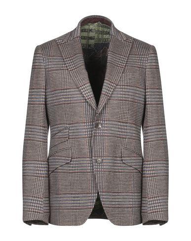 Фото - Мужской пиджак  коричневого цвета