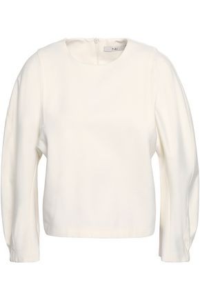 TIBI Gathered ponte top