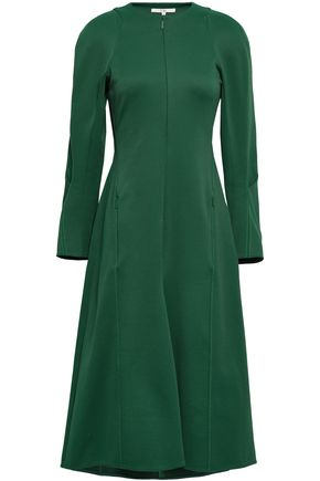 TIBI Twill midi dress