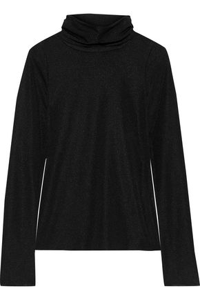 SEE BY CHLOÉ Ribbed stretch-jersey turtleneck top