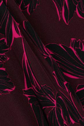 A.L.C. Lori printed silk crepe de chine shirt