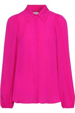 A.L.C. Lori silk crepe de chine shirt