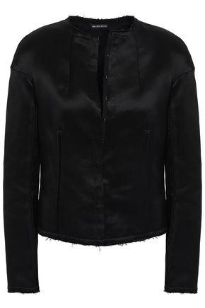 ANN DEMEULEMEESTER Satin-twill jacket
