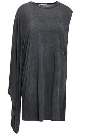 IRO Draped jersey mini dress