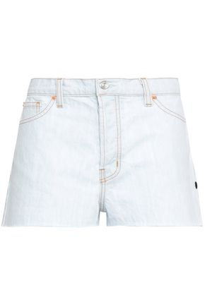 IRO Frayed denim shorts