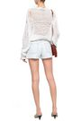 IRO Frayed denim shorts