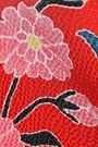 PETER PILOTTO Cold-shoulder floral-print hammered stretch-silk top