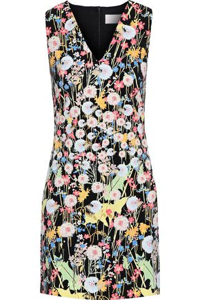 PETER PILOTTO Printed cady mini dress