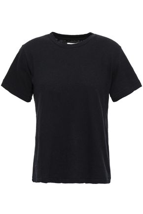 SIMON MILLER Cotton-jersey slub T-shirt