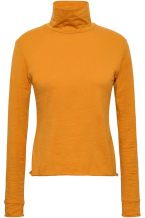 SIMON MILLER Stretch-jersey turtleneck top