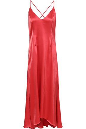 RACIL Satin midi dress