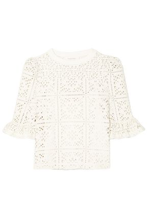 SEE BY CHLOÉ Cutout jersey top