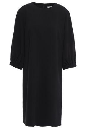 TIBI Lace-up crepe mini dress