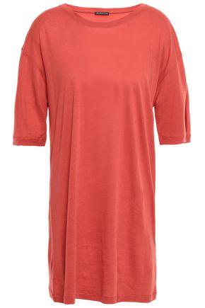 ANN DEMEULEMEESTER Cotton and silk-blend jersey T-shirt