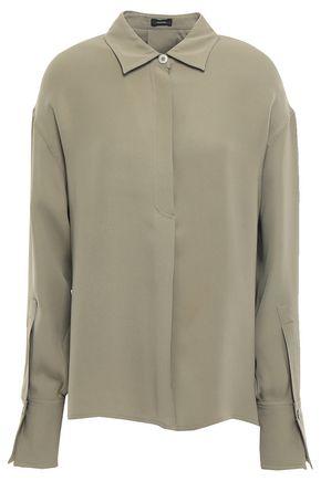 JOSEPH Silk-crepe blouse