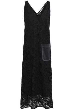 JOSEPH Margo Palermo cotton-blend lace midi dress