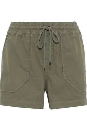 ANINE BING Cotton-jacquard shorts