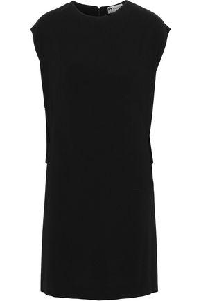 LANVIN Draped stretch-crepe mini dress