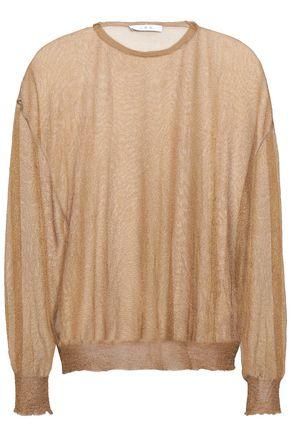 IRO Evi crochet-knit sweater