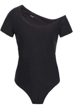 ALIX One-shoulder jersey bodysuit